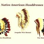 """Native American Headdresses Number 2"" by vigliotti"
