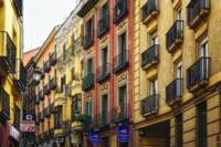 Colorful Street in Madrid