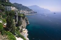 Amalfi Coast Cliffside Scenic
