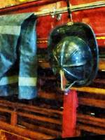 Fireman's Helmet and Jacket