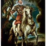 """Equestrian Portrait of the Duke of Lerma (1603)"" by ArtLoversOnline"
