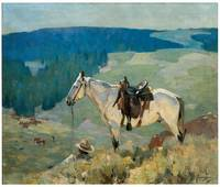 On the Range (1920)