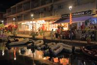 Marina at Night in Marigot