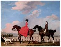 John and Sophia Musters Riding at Colwick Hall