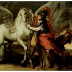 """Athena and Pegasus (1644)"" by ArtLoversOnline"