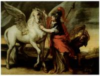 Athena and Pegasus (1644)
