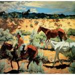 """The Southwest by Walter Ufer"" by ArtLoversOnline"