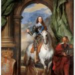 """Charles I with M. de St. Antoine (1633)"" by ArtLoversOnline"