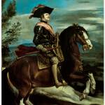 """Equestrian Portrait of King Philip IV of Spain"" by ArtLoversOnline"