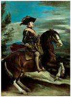 Equestrian Portrait of King Philip IV of Spain
