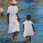 """Granny & Me    Southern Art  Larry Kip Hayes"" by kiphayes"