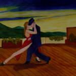 """Tango on the Rooftop"" by anthonydunphy"