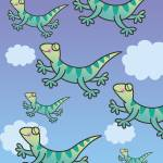 """Leaping Lizards"" by karynlewis"