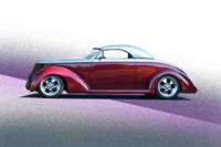 1937 Ford Roadster II Studio Profile