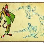 """""""Animated Tiger Guan Yu 虎關羽"""" by artofroberttsai"""