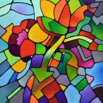 """Mosaic Bouquet"" by sallytrace"