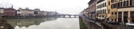 Misty morning in Florence