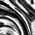 """Black White Grey Abstract 6-17-13"" by TheNorthernTerritory"