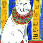 """Egyptian cat"" by faridazaman"