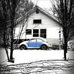 """""""Blue Snow"""" by HappyStreetPhotoArt"""