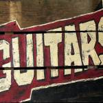 """Guitars Sign"" by NoelleRollinsArt"