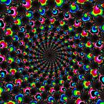 """Psychedelic Wormhole"" by netbrands"