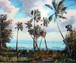 Palm Cove by Mazz Original Paintings