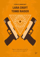 No209 My Lara Croft Tomb Raider minimal movie post