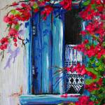 """Blue Shutters 02"" by yvonneayoub"