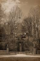 Ohio University Bryan Hall Sepia