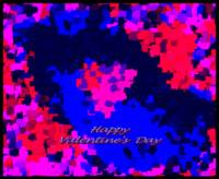 Happy Valentine Abstract 6-16-13