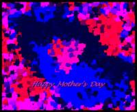 Abstract Mother's Day Valentine