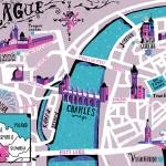 """Prague map"" by Migy"