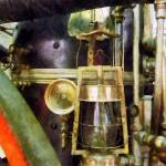 """Lantern On Fire Truck"" by susansartgallery"