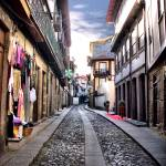 """Medieval street of Guimaraes, Portugal"" by vribeiro"