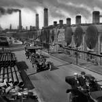 """Executives Touring the Standard Oil Refineries, Ri"" by worldwidearchive"