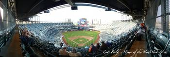 CitiField Panorama Opening Day Upper Deck Behind H