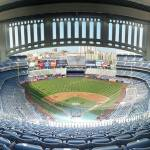 """Yankee Stadium Frieze Grandstand 420B Last Row"" by augiespanoramas"