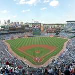 """Atlanta Braves Panorama Turner Field Upper Box 402"" by augiespanoramas"