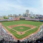 """Wrigley Field Panorama - Upper Deck Chicago Cubs"" by augiespanoramas"