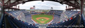 Citizens Bank Park Panorama - Home of the Philadel