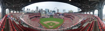 Busch Stadium Panorama - St. Louis Cardinals