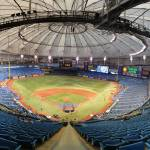 """Tropicana Field Panorama - Tampa Bay Rays"" by augiespanoramas"