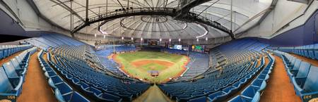 Tropicana Field Panorama - Tampa Bay Rays