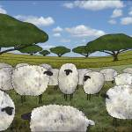 """""""greener pasture"""" by sarahkdesigns"""