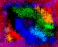 Abstract Rainbow Valentine