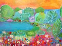 Breathe Painting/Acrylic Landscape