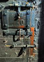 1000 Years Old Locks and Door