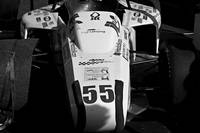 B&W Formula One Race Car