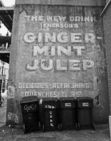 Emerson's Ginger Mint Julep Sign, New Orleans
